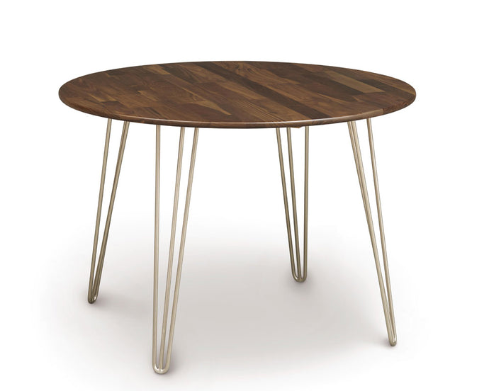 Copeland Essentials Round Dining Table with Metal Legs