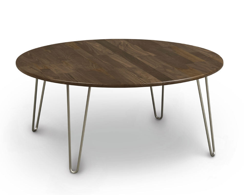 Copeland Essentials Round Coffee Table With Metal Legs Ohio