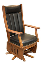 Load image into Gallery viewer, Mission Swivel Glider with Slat Base
