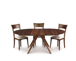 Copeland Catalina Round Extension Table in Walnut