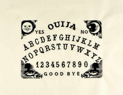 Ouija board 5x7 machine embroidery design