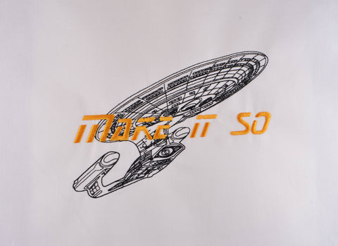 Star Exploration Make it so 6x10 machine embroidery design