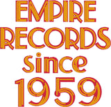 Empire Records neon sign 5x7 machine embroidery design