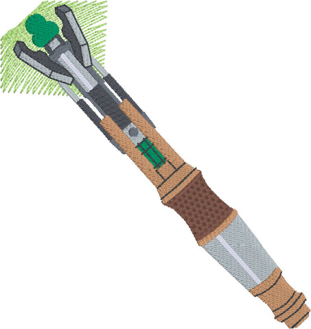 11th Sonic Screwdriver Machine Embroidery design 4x4