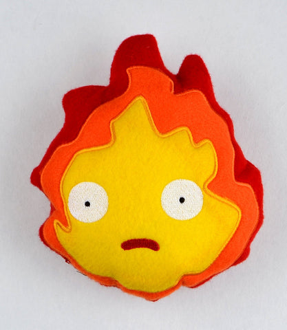 Calcifer stuffie / Stuffy 5x7 ITH machine embroidery design