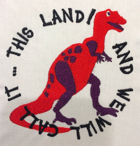 And we'll call it this land Machine Embroidery Design 4x4