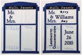 Dr. Space Time Displacement Vehicle Wedding Stat Template machine embroidery design 5x7