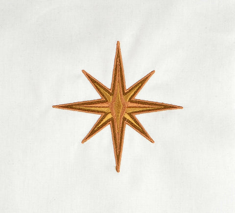 New Fabulous Lady Hero star machine embroidery design 4x4