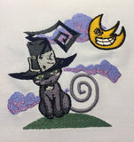 Soul Eater Blair Machine Embroidery Design 4x4
