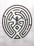 Old Town Maze machine embroidery design 4x4