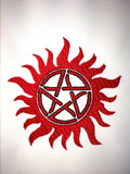 No demon Sigil Machine Embroidery Design 4x4