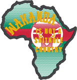 African Mining Country is not a shithole patch ITH 4x4 machine embroidery design