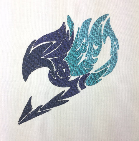 Fairy Tails machine embroidery design 4x4