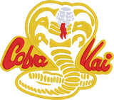 Cobra Kai 5x7 machine embroidery design