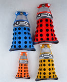 Dalek stuffie stuffy FOUR SIZES ITH machine embroidery design