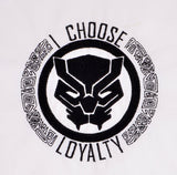 Black Panther I choose loyalty 4x4 machine embroidery design