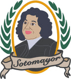 Supreme Court Justice Sotomayor 5x7 machine embroidery design