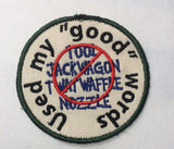 Adult Merit Badge Good Words Badge/Patch/Appliqué embroidery pattern