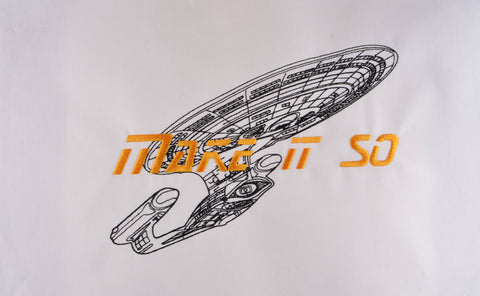 STNG Make it so 7x12 machine embroidery design