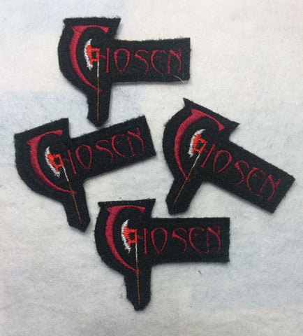 Chosen ITH feltie 4 to the hoop machine embroidery design 4x4