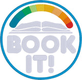 Book It! appliqué 5x7 machine embroidery design
