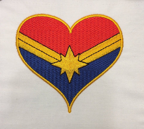 Lt Wonder heart machine embroidery design 4x4 and 2.5x2.5
