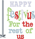 Festivus 4x4 Pack machine embroidery designs