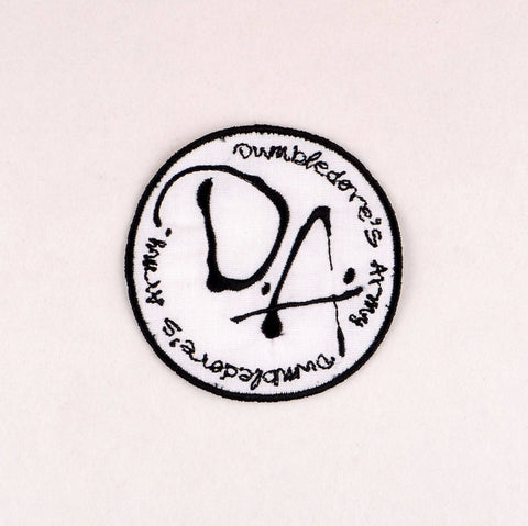 Dumbledore's Army patch ITH 4x4 machine embroidery design
