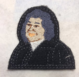 Associate Justice Sonia Sotomayor ITH feltie 4 to the hoop machine embroidery design 4x4