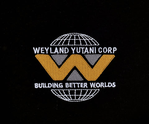 Weyland Yutani Corp machine embroidery design 4x4