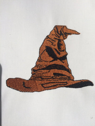 Sorting Hat Machine Embroidery Design 4x4