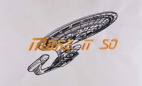 STNG make it so 5x7 machine embroidery design