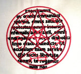 Demon Trap Sigils Machine Embroidery Design 4x4