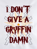 I don't give a Griffin Damn 5x7 machine embroidery design