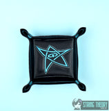 Elder Sign portable dice tray FIVE SIZES ITH machine embroidery design