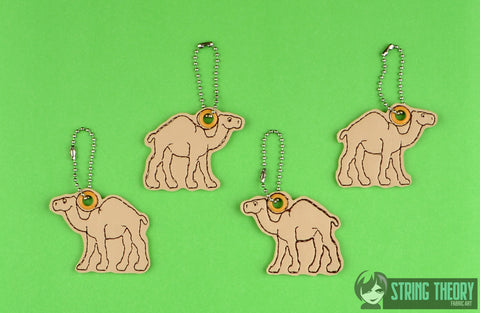 Camel animal cracker dangles 4ITH 4x4 machine embroidery design