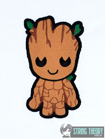 Chibi Tree Hero 5x7 machine embroidery design