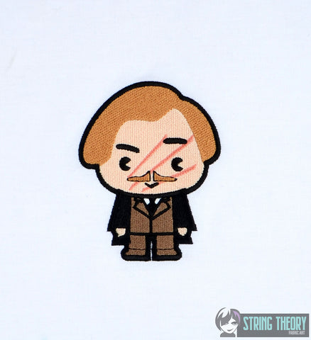 Harry Potter Chibi Remus Lupin 4x4 machine embroidery design