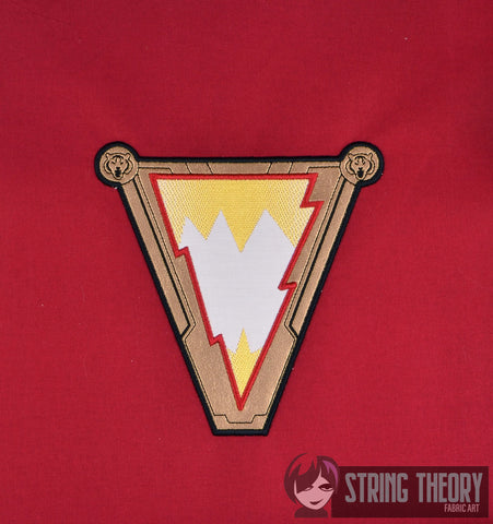 Lightning Boy Hero 6x10 Applique machine embroidery design