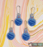 Mana Health Potion Bottle dangles 4ITH 4x4 machine embroidery design