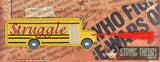 Struggle Bus Traditional Bookmark 2ITH 5x7 Machine Embroidery Design