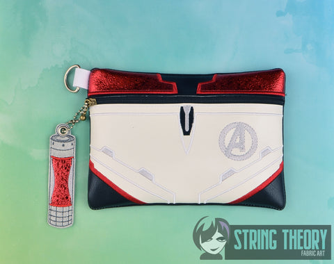 Marvel Avengers Endgame Zip Bag 5x7 ITH machine embroidery design