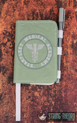 Star Exploration Academy-Medical POSH BOOK NOTEBOOK COVER ITH 5X7 MACHINE EMBROIDERY DESIGN