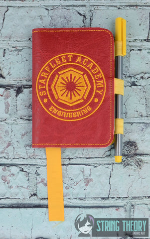 Star Exploration Academy- Engineering POSH BOOK NOTEBOOK COVER ITH 5X7 MACHINE EMBROIDERY DESIGN