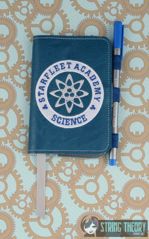 Star Exploration Academy-Science POSH BOOK NOTEBOOK COVER ITH 5X7 MACHINE EMBROIDERY DESIGN