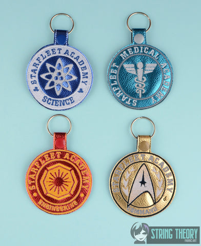 STAR Exploration ACADEMY FOB SET 4X4 MACHINE EMBROIDERY DESIGN