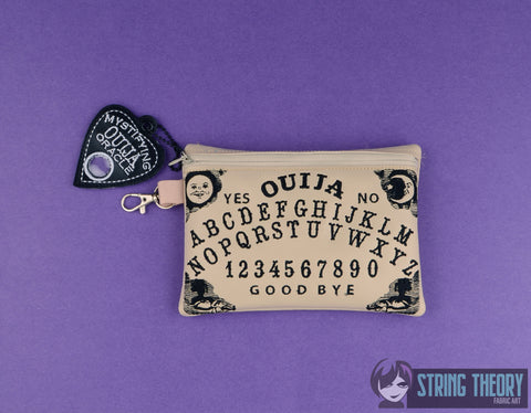 Ouija ZIP BAG 5X7 MACHINE EMBROIDERY DESIGN