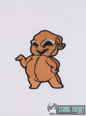 CHibi Burlap Bug Guy 4x4 MACHINE EMBROIDERY DESIGN