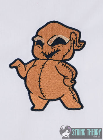 CHibi Oogie Boogie 5x7 MACHINE EMBROIDERY DESIGN