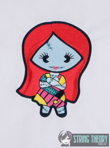 CHibi Sally 5x7 MACHINE EMBROIDERY DESIGN